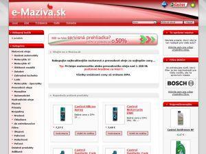 e-maziva.sk